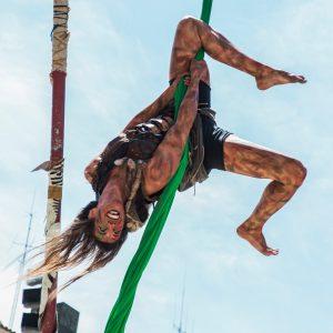 Curso de Técnicas Aéreas de Circo de Costanza Lovazzano