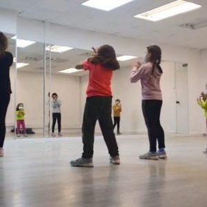 Curso baile infantil La Casa del Circo