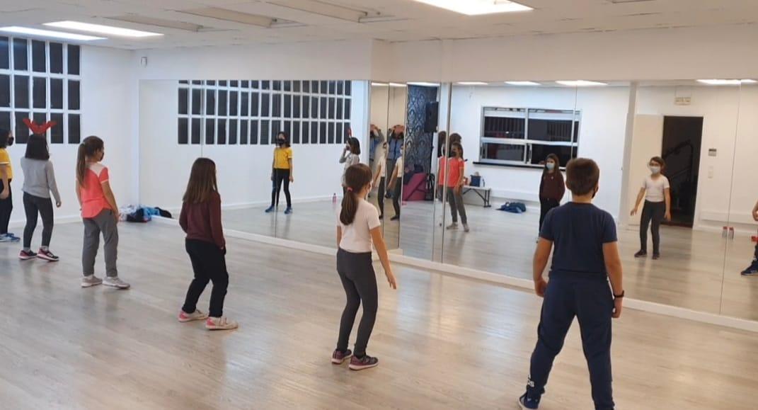 Curso baile junior La Casa del Circo
