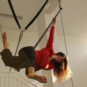 Curso Intensivo técnicas aéreas en La Casa del Circo de Zaragoza